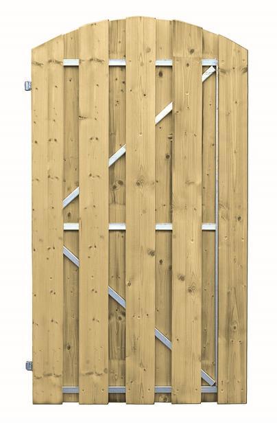 CarpGarant | 1704L | Deur stalen frame links draaiend | 180 x 100 cm