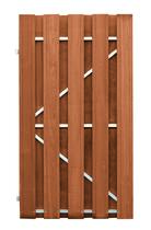 CarpGarant | 1588L | Deur stalen frame links | 180 x 100 cm