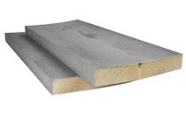 Steigerplank vuren Grijs | 3,2 x 20cm | 500 cm | ACTIE!