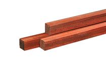 Hardhouten paal | Azobe | 85 x 85 mm | 100 cm