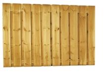 Grenen plankenscherm | 21-planks | 180 x 130 cm