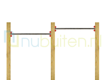 NuBuiten | Dubbel Duikelrek 125 | RVS
