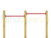 NuBuiten | Dubbel Duikelrek 90 | Rood