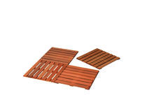 Woodvision | Hardhouten reliëftegel | 50 x 50 cm