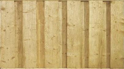 Beton sponningsysteem > Schutting > Hout-betonschutting