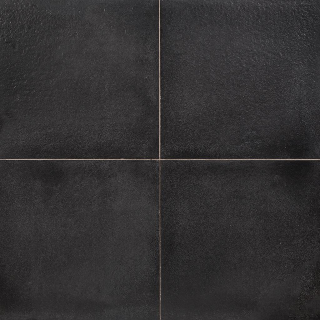 Excluton | Flamestone 60x60x4 | Antraciet