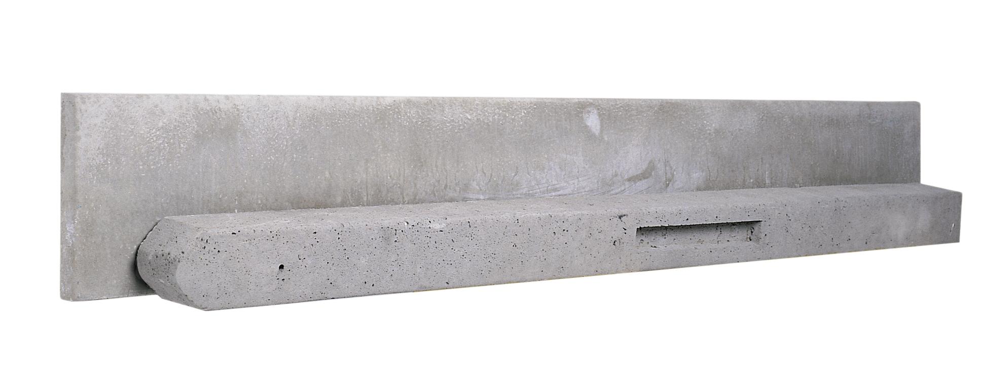 Betonpaal | Basic | Grijs | Hoekpaal | 270cm