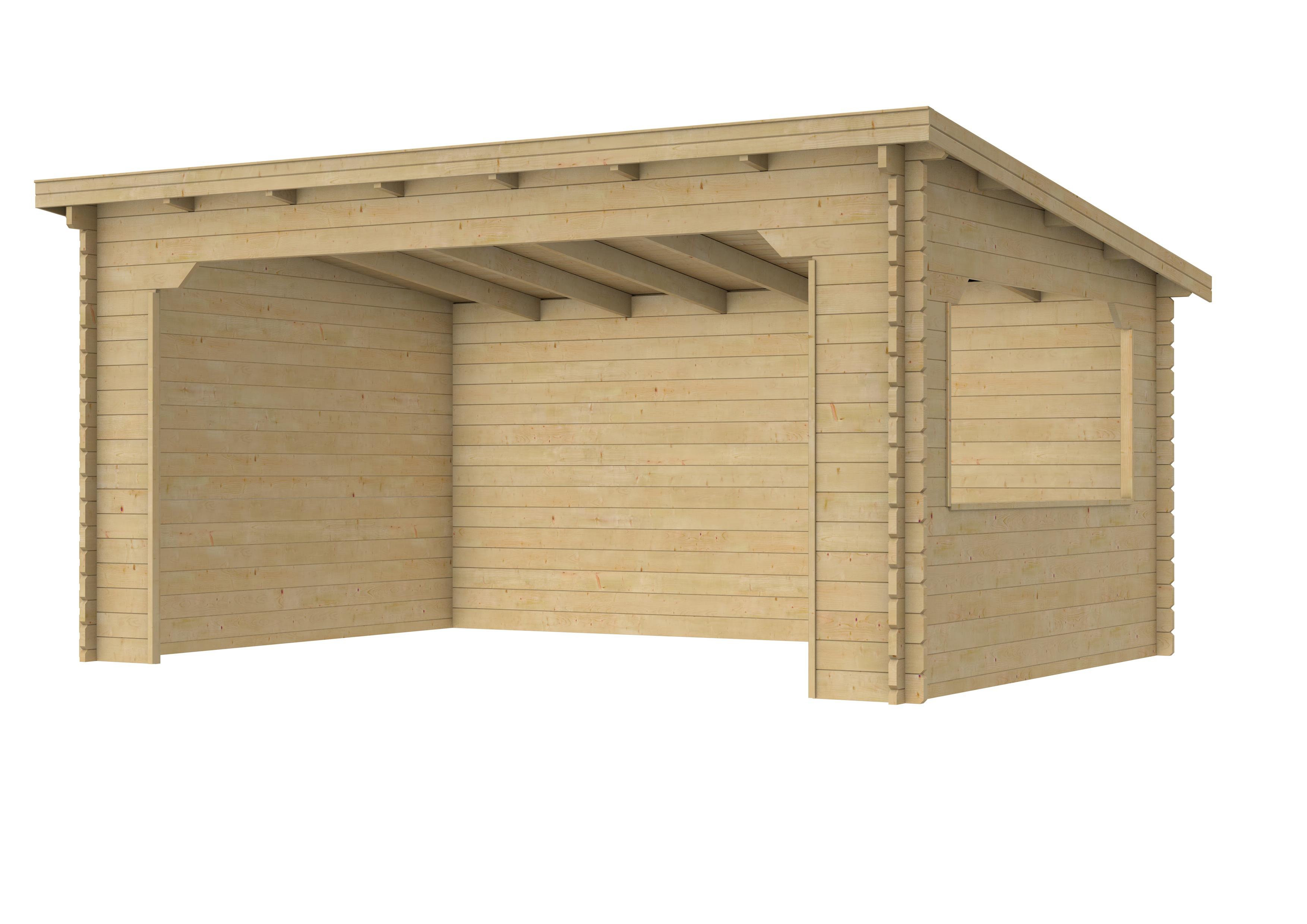 Woodvision | Overkapping Kolgans 400 x 350
