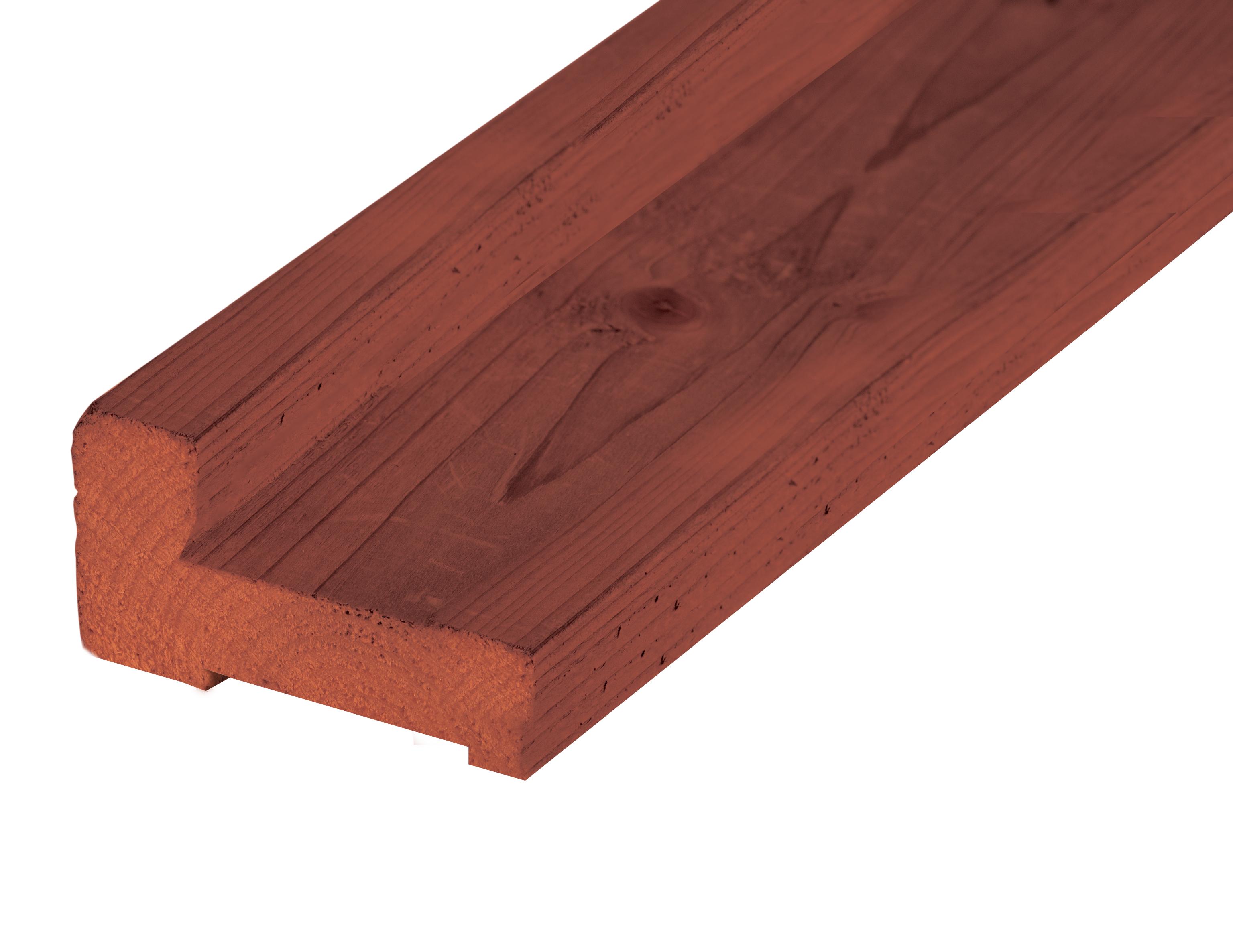 Onderregel Hardhout | 200 cm | Funderingsbalk