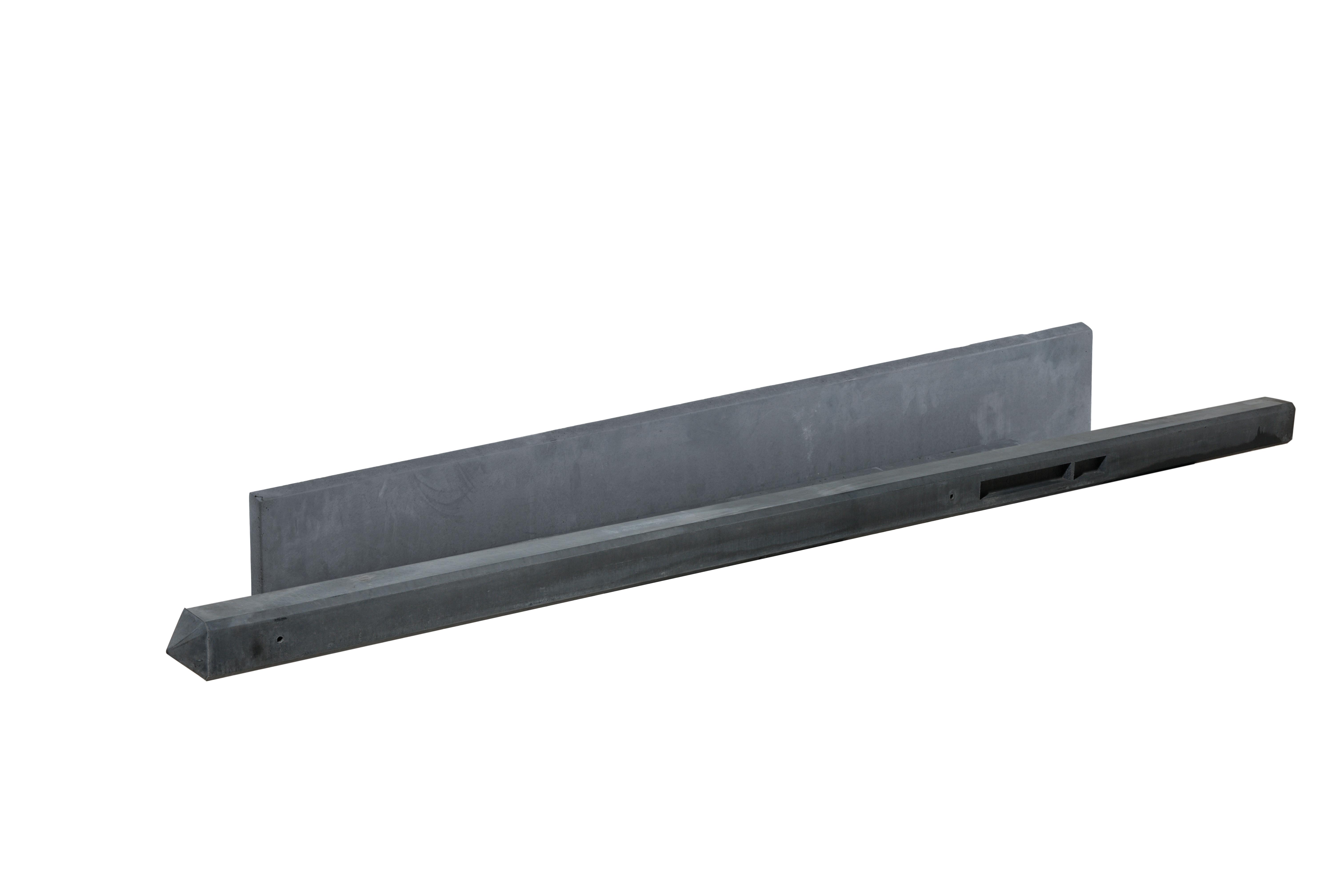 Schutting > Hout-betonschutting > Luxe Hout-betonschutting