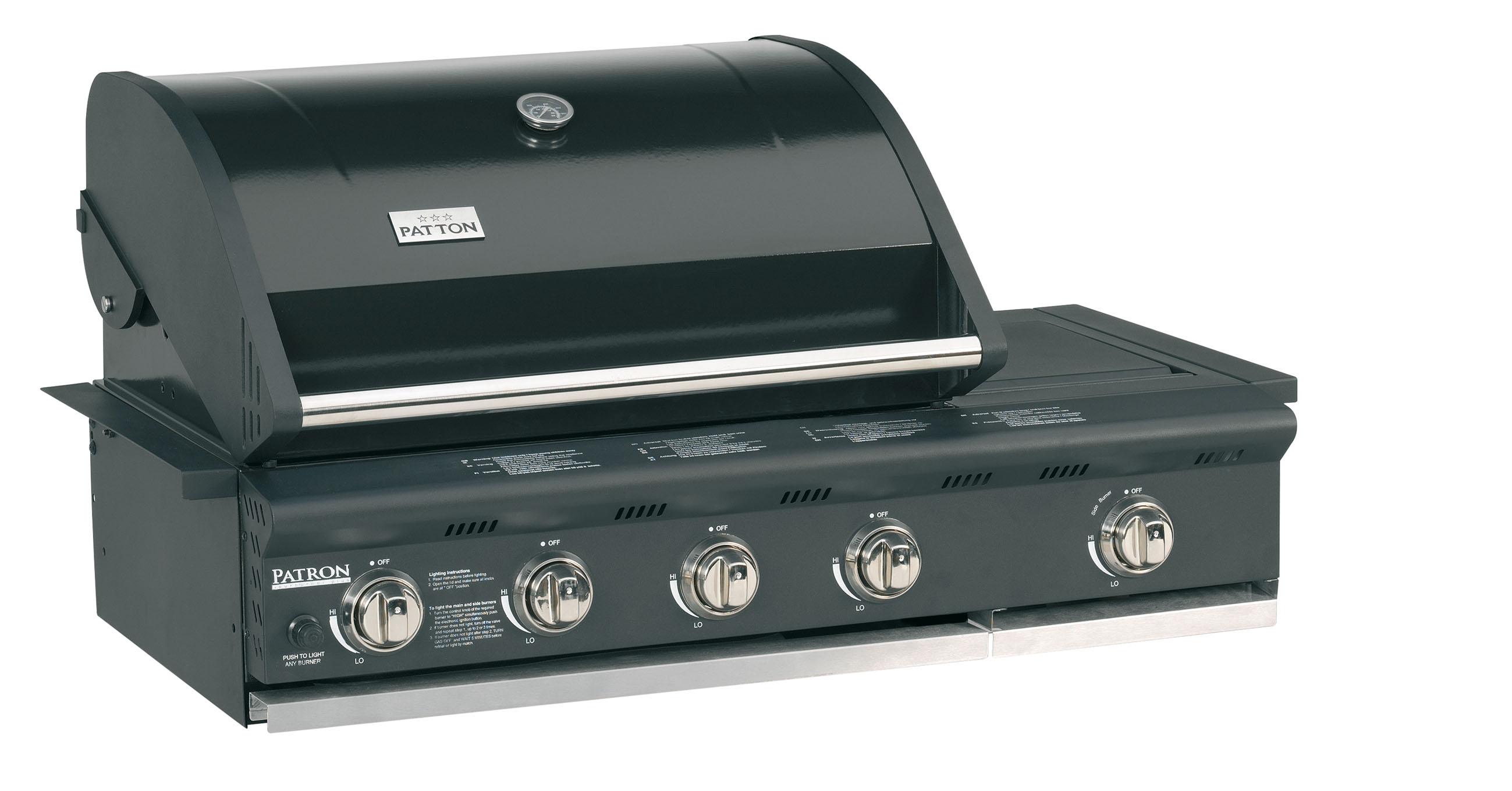 Patton | Build-In 4 Burner Plus
