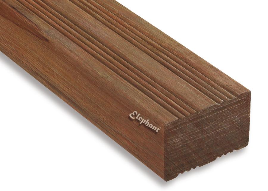 Houtsoort: angelyn fsc hardhout afmeting:30 x 65 mm lengte: 215cm