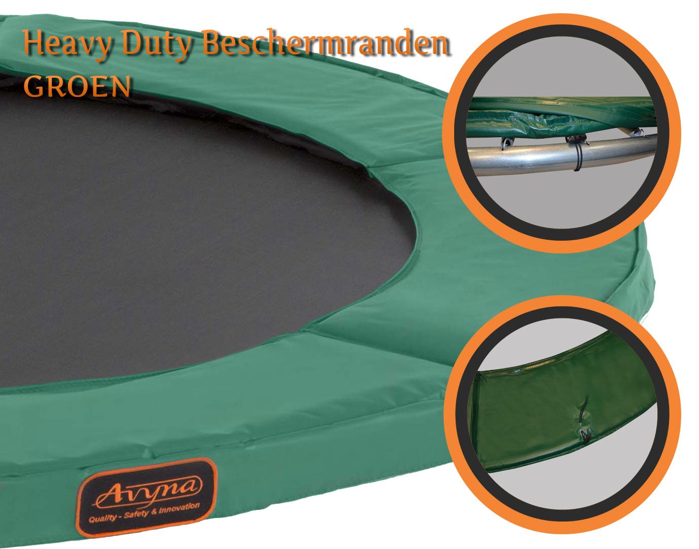 Avyna | Randkussen HD 4,30m | Groen