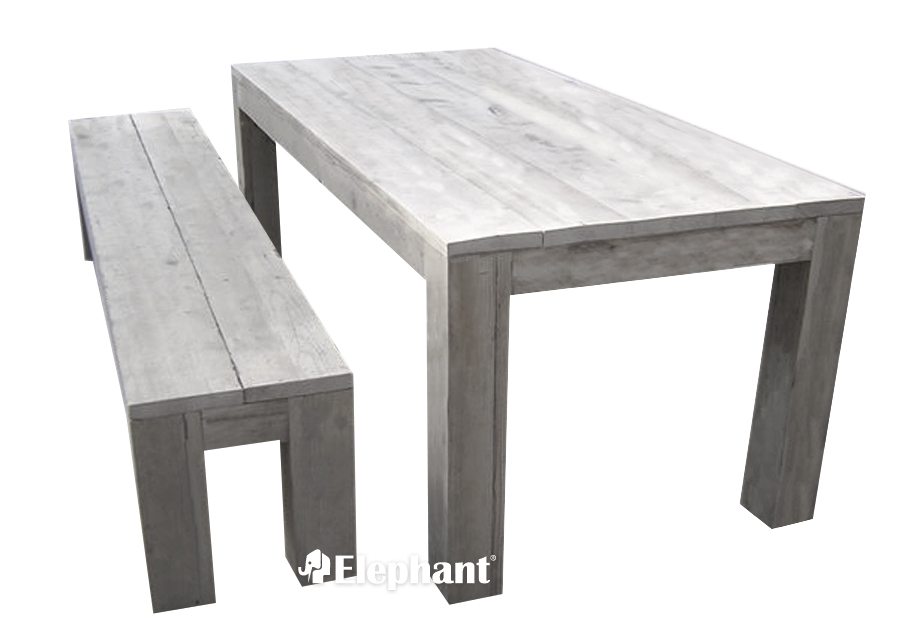 Robuuste tafel kopen tweedehands tafels salontafels for Tuintafel steigerhout bouwpakket