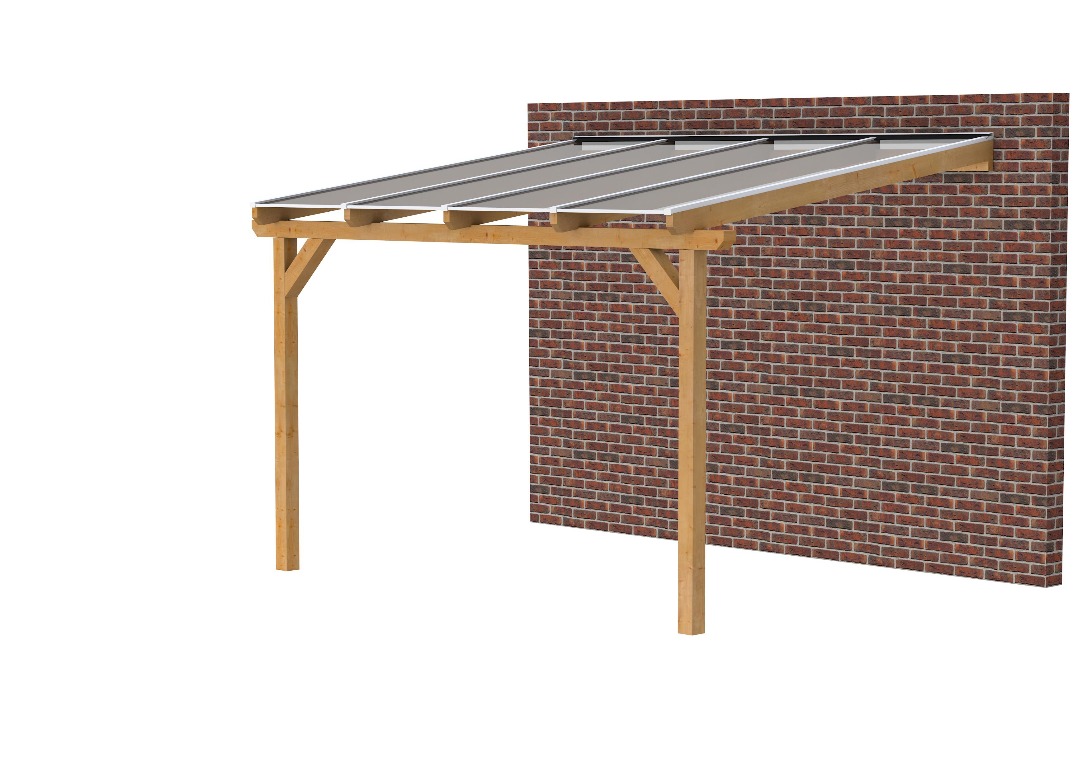Douglasvision | Veranda 400x400 | Opaal dakplaat
