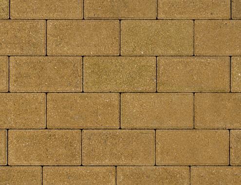 Kijlstra | Halve betonstraatsteen 10.5x10.5x8 | Geel