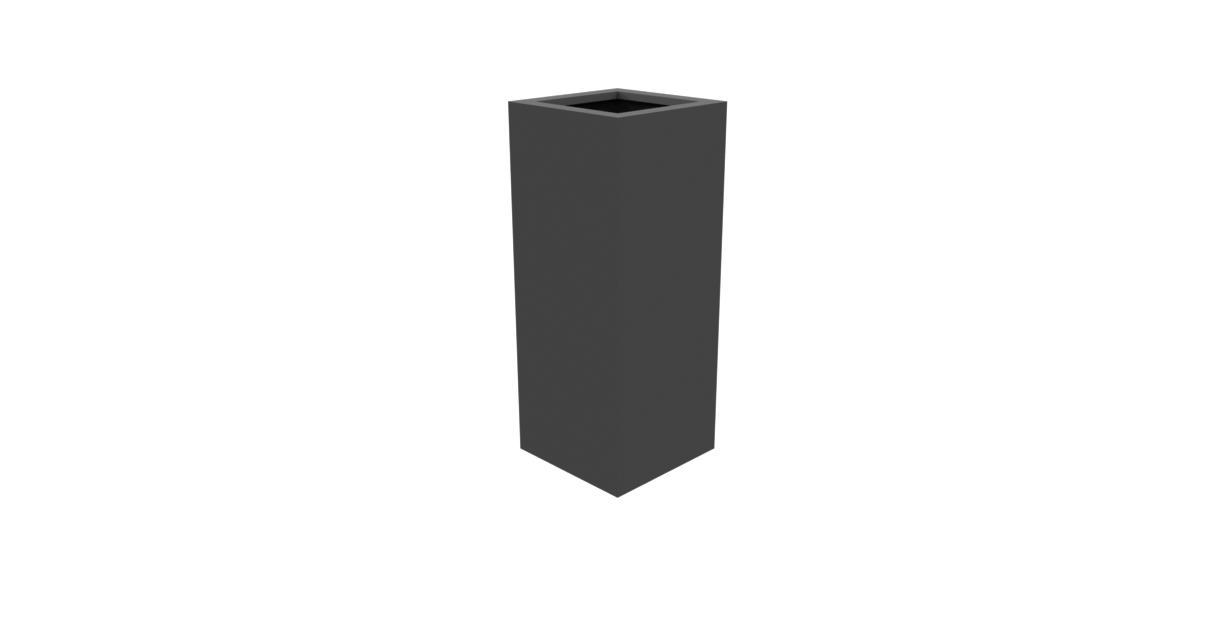 Aluminium Bloembak Florida   40 X 40 X 100