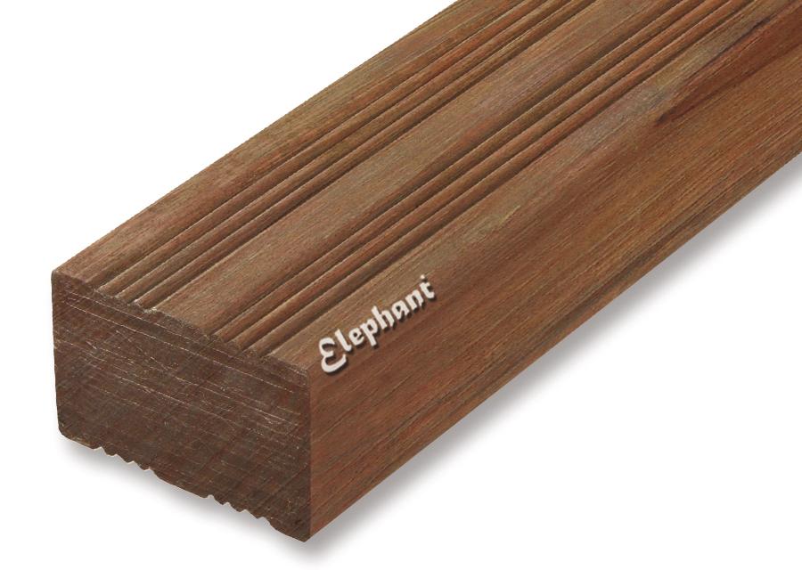 Houtsoort: angelyn fsc hardhout afmeting:30 x 65 mm lengte: 275 cm