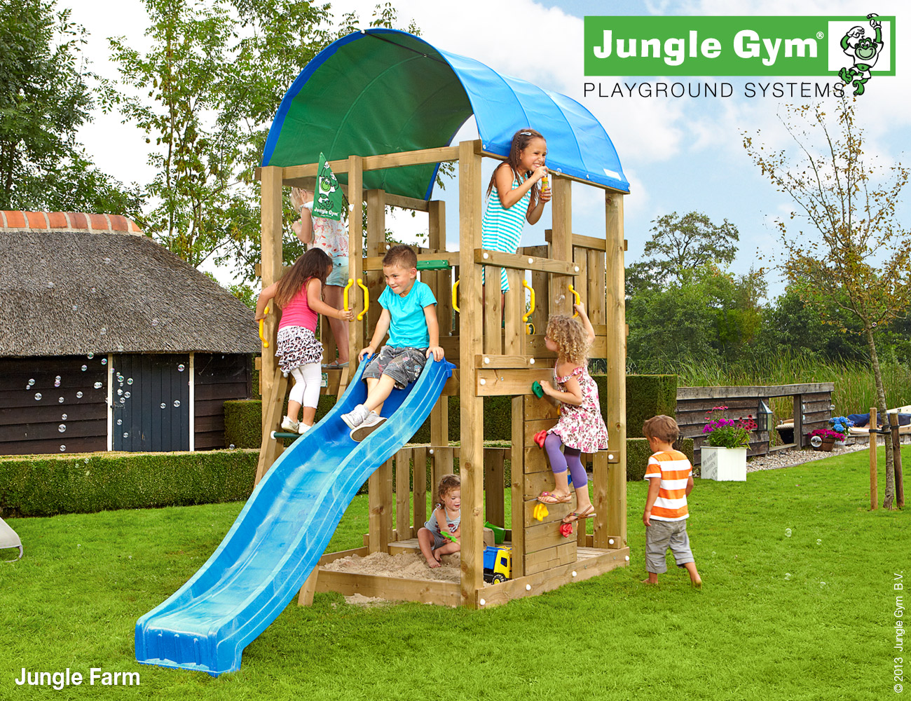 Jungle Gym | Farm | DeLuxe | Paars