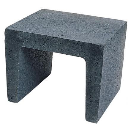 Excluton   U-element 40x40x50   Zwart