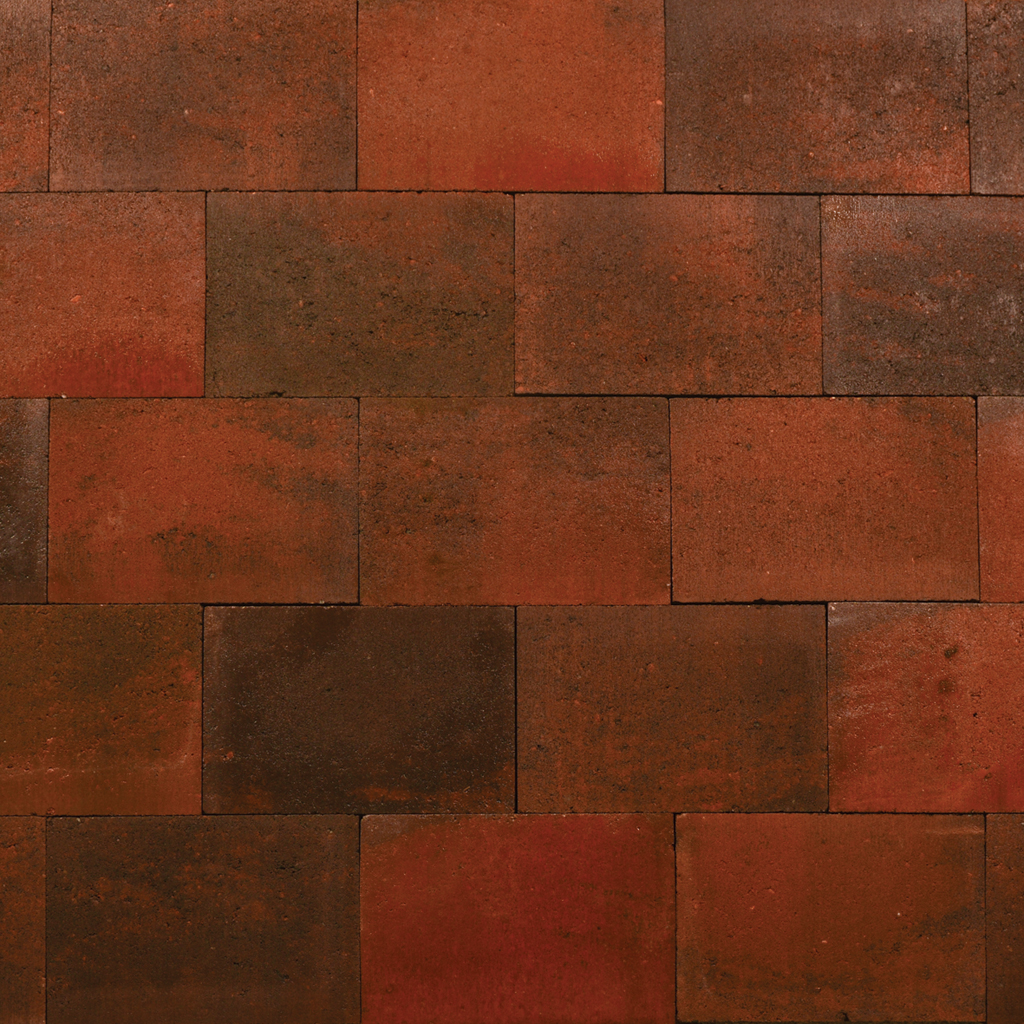 Excluton | Puras 20x30x6 | Rood/zwart