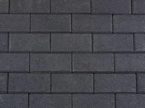 Kijlstra | Halve betonstraatsteen 10.5x10.5x8 | Antraciet