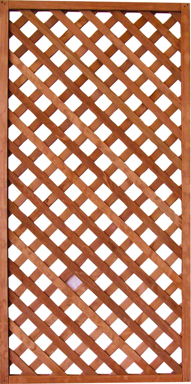Felix Clercx | Trellis 18 Bangkirai | 90 x 180 cm