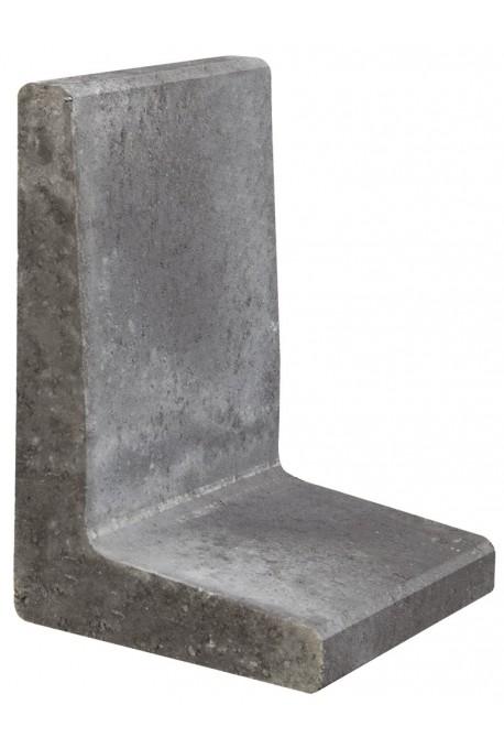 Excluton | L-element 100x40x50 | Zwart
