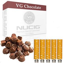 Chocolate Nicotine Max Volume Cartomiser Pack