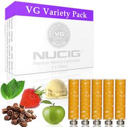 NUCIG Sampler Variety Cartomiser Pack