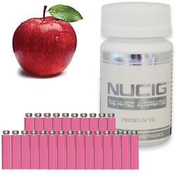 BB Apple PINK Maxvol 0mg - 25pc Tub