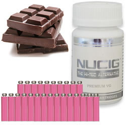 BB Chocolate PINK Maxvol ZERO 0mg - 25pc Tub