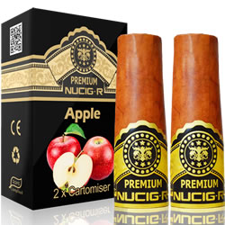 A Electric rechargeable cigar filter pack - APPLE