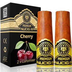 A Electric rechargeable cigar filter pack - CHERRY