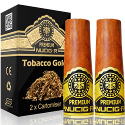 A Electric rechargeable cigar filter pack - TOBACCO GOLD