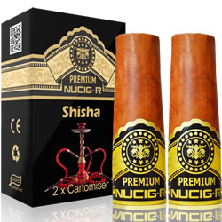 A Electric rechargeable cigar filter pack - EXOTIC SHISHA
