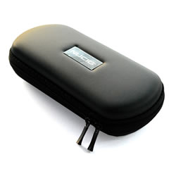 A NUCIG Ego carry storage case black colour.