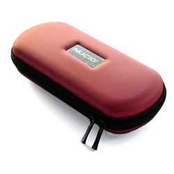 A NUCIG Ego carry storage case red colour.