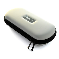 A NUCIG Ego carry storage case white colour.