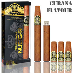 A Cuban flavour rechargeable ecigar kit