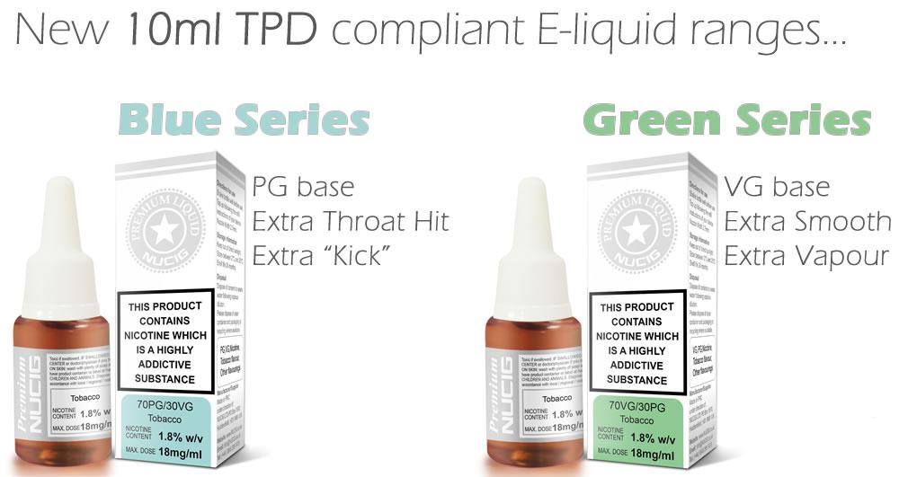 TPD E Liquids NUCIG UK