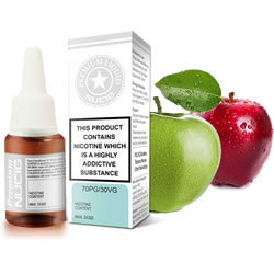 NUCIG 70PG/30VG E liquid Apple Flavour