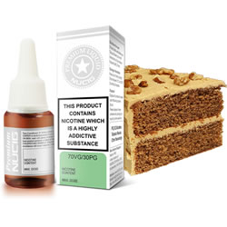 NUCIG 70VG/30PG E liquid Coffee Walnut Flavour
