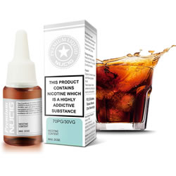 NUCIG 70PG/30VG E liquid Red Cola Flavour