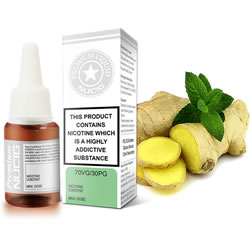 NUCIG 70VG/30PG E liquid Ginger Secret Flavour