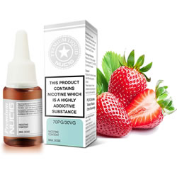 NUCIG 70PG/30VG E liquid Strawberry Flavour