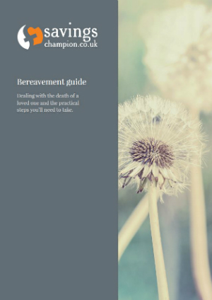 Bereavement guide cover image.