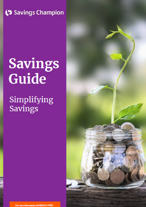 Savings Guide cover image.