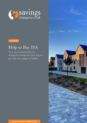 Help to Buy ISA Factsheet cover image.