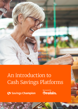 An introduction to Cash Savings Platforms cover image.